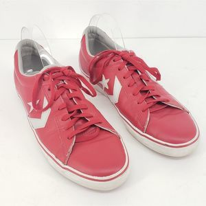 Converse All Star Pro Vulc Ox Sneakers Red 11.5 M